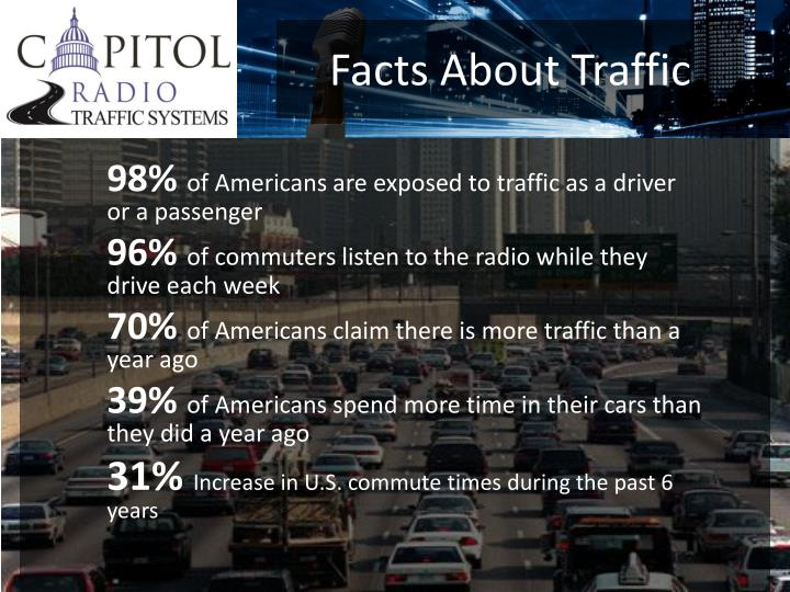 Facts about traffic