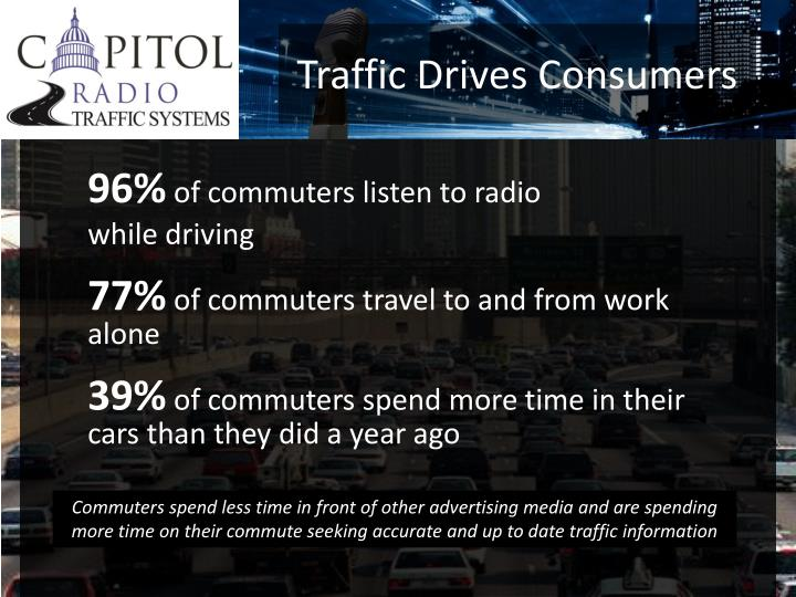 Traffic Drives Consumers