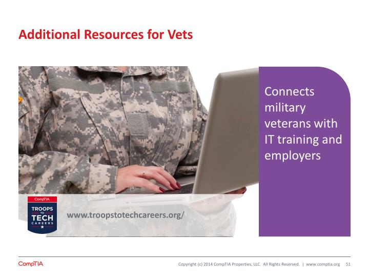 Additional Resources for Vets