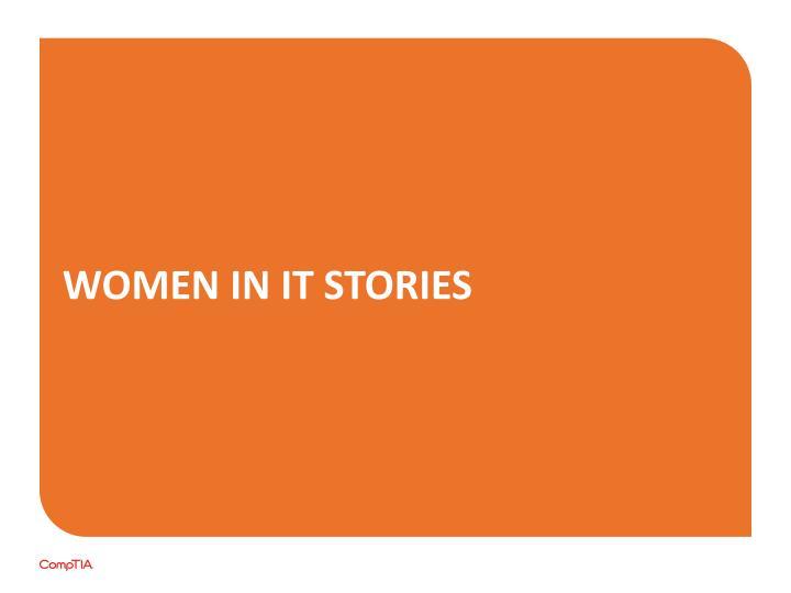 Women in IT Stories