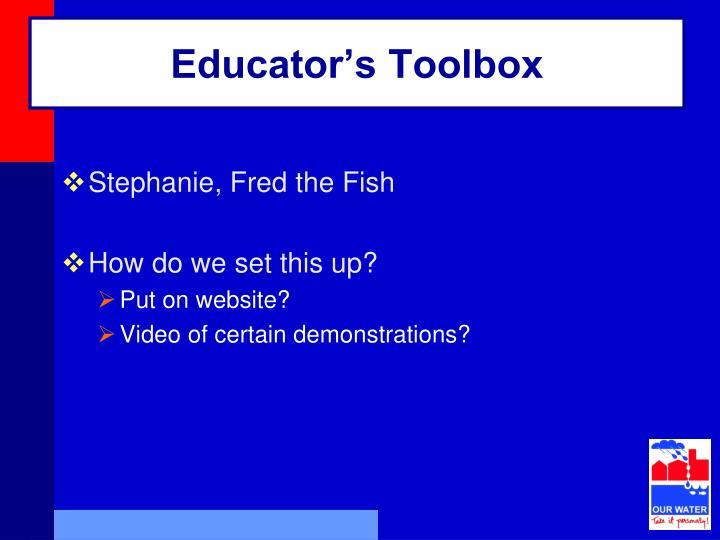 Educator's Toolbox