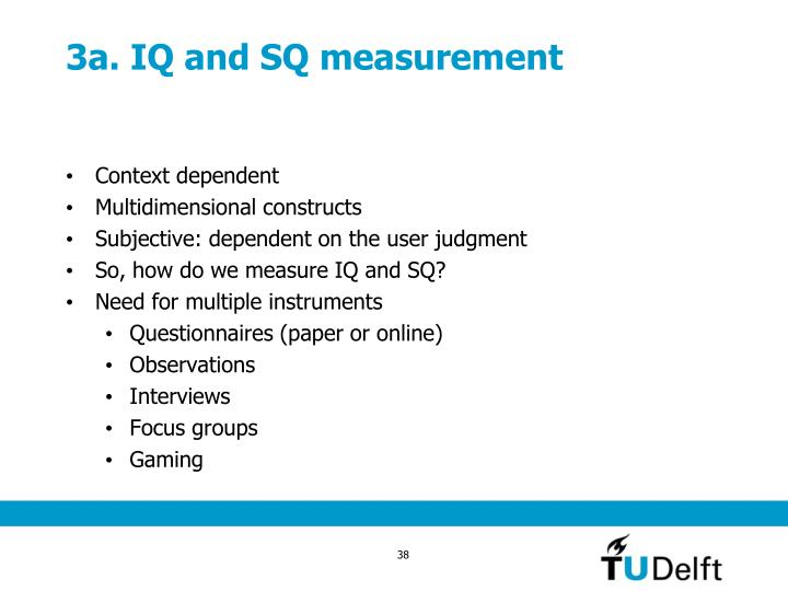 3a. IQ and SQ measurement