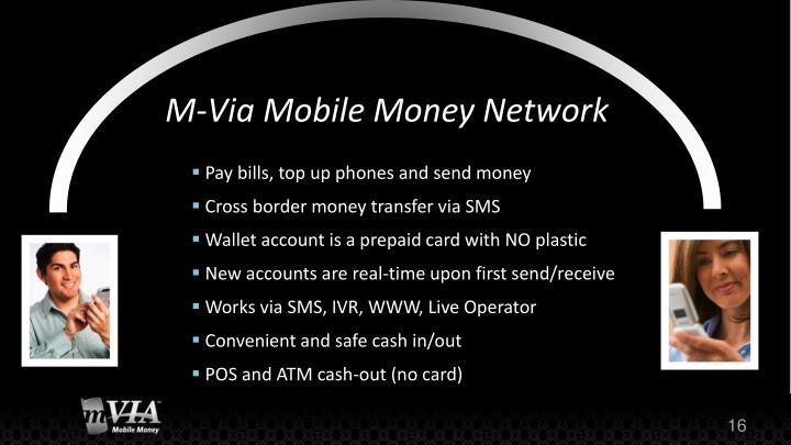 M-Via Mobile Money Network