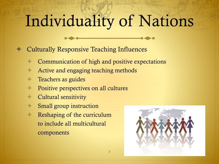 Individuality of Nations