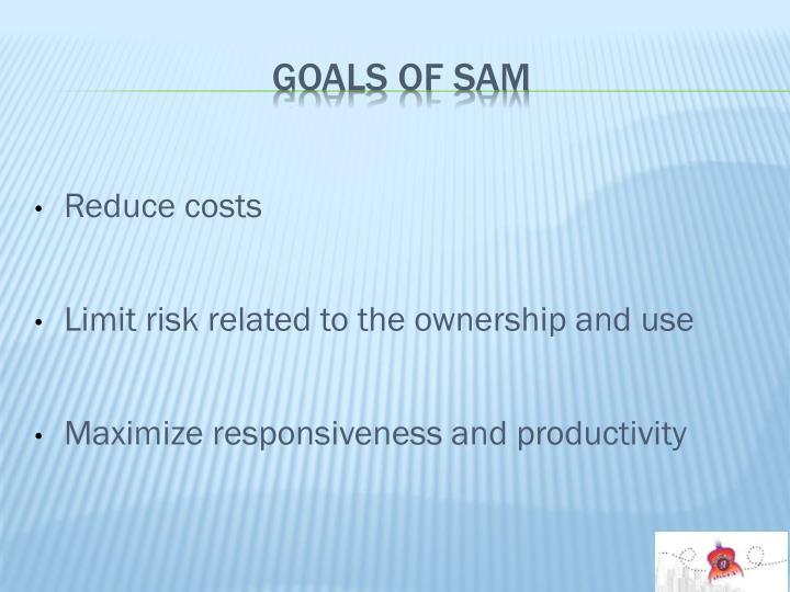 Goals of SAM