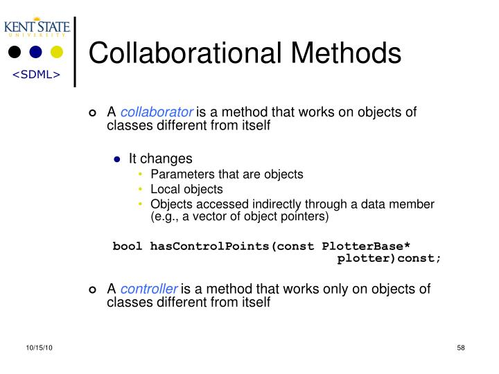Collaborational Methods