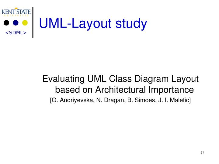 UML-Layout study
