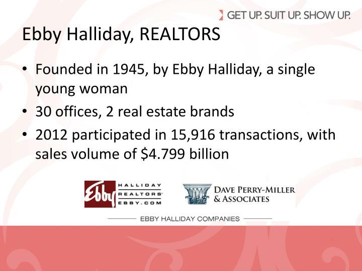 Ebby Halliday, REALTORS