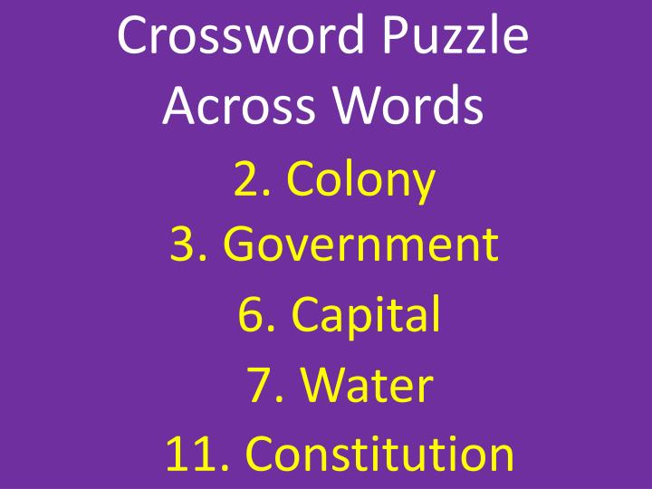 2. Colony