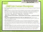 child care contract description 2