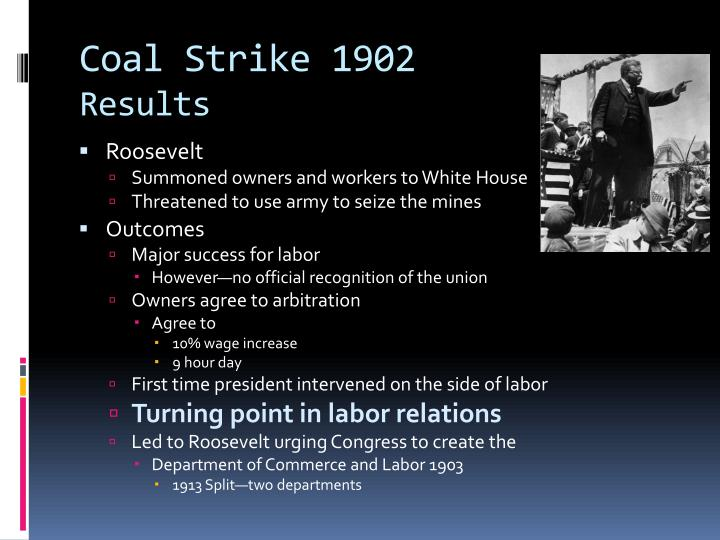 Coal Strike 1902