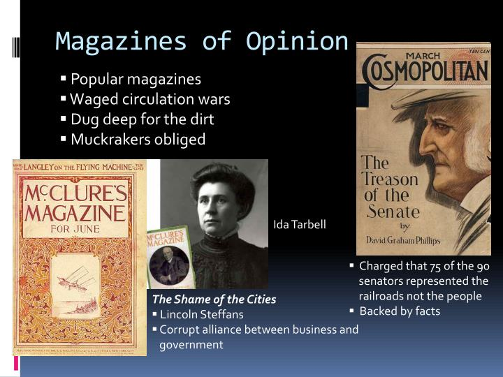 Magazines of Opinion