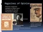 magazines of opinion