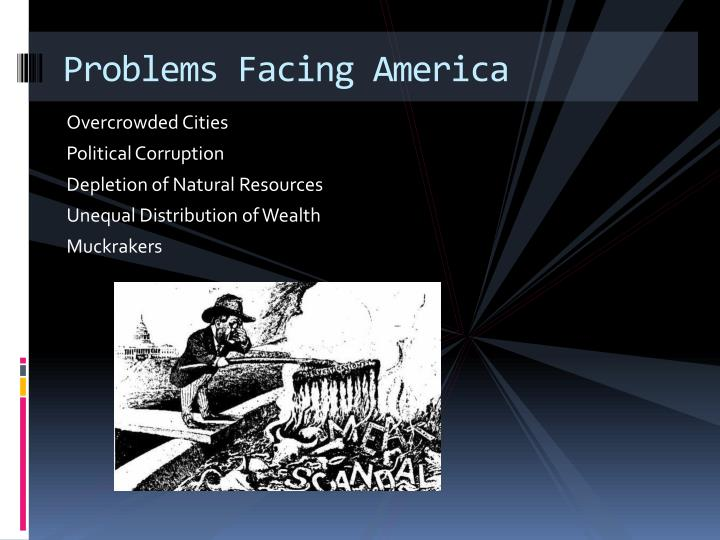 Problems Facing America