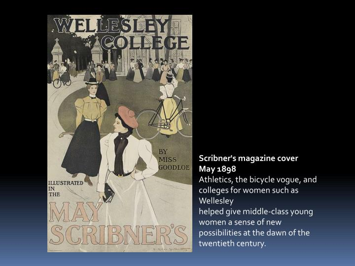 Scribner's magazine cover