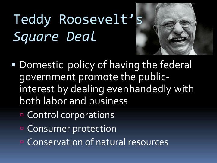 Teddy Roosevelt's