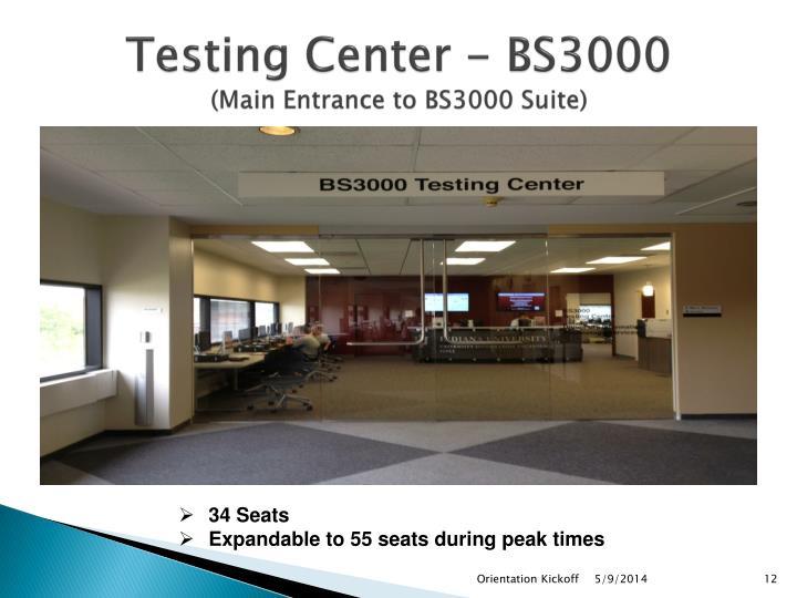 Testing Center -