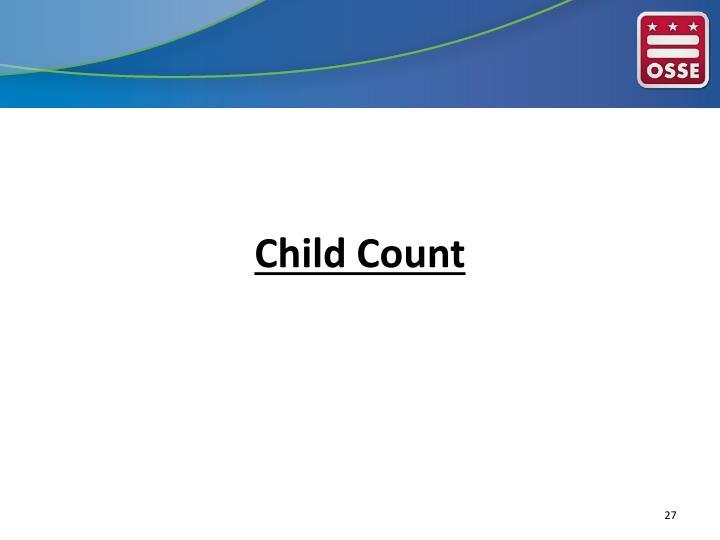 Child Count