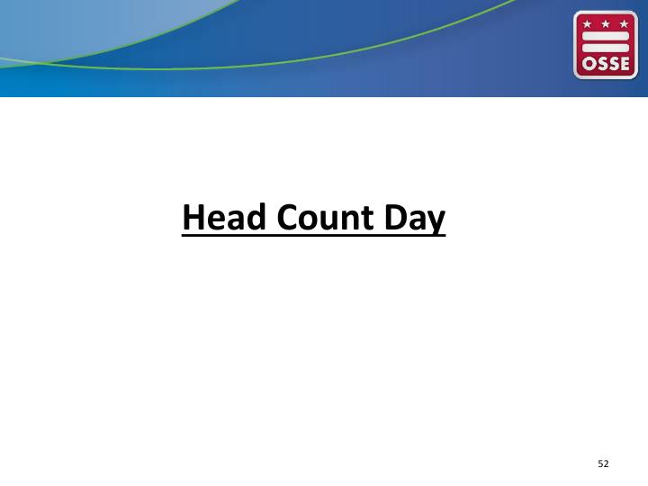 Head Count Day