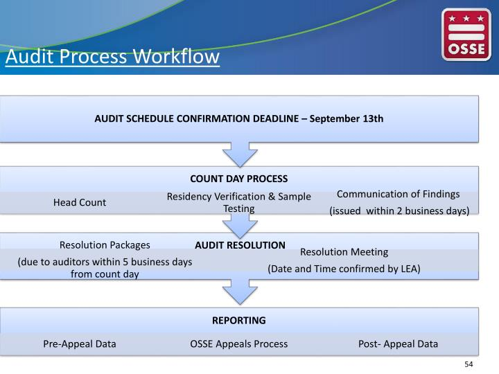 Audit Process Workflow