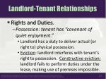landlord tenant relationships1