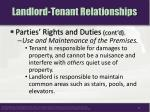 landlord tenant relationships7