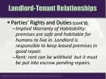landlord tenant relationships8