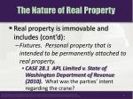 the nature of real property2