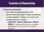 transfer of ownership8