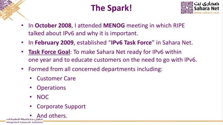 The Spark!