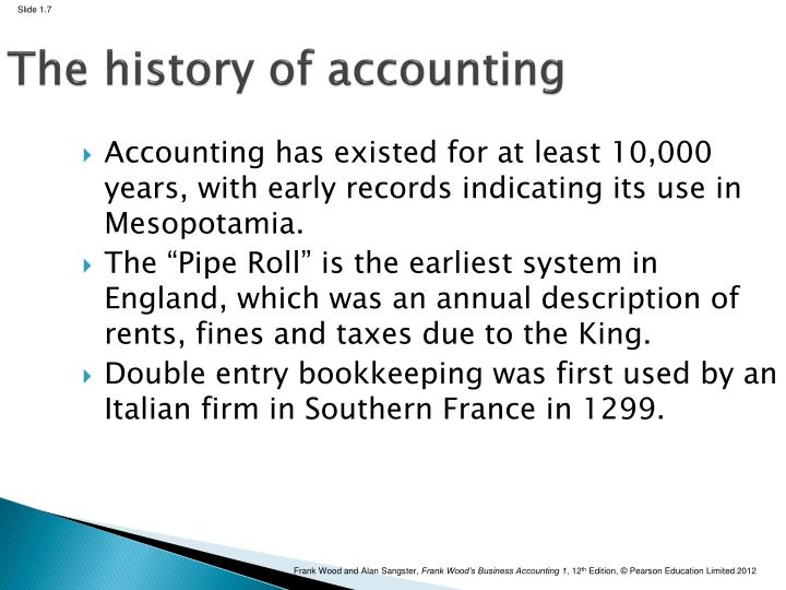 the history of accounting By eamonn ryan the next revolution in accounting software may soon be upon us if your company is not ready to get rid of its obsolete, client-server, proprietary.
