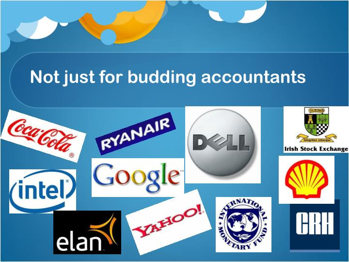 Not just for budding accountants
