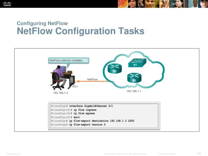 Configuring NetFlow