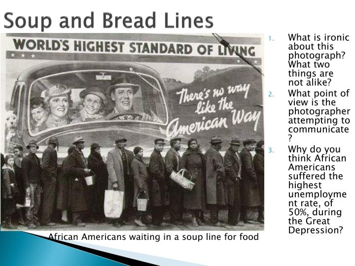 Soup and Bread Lines