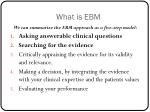 what is ebm1