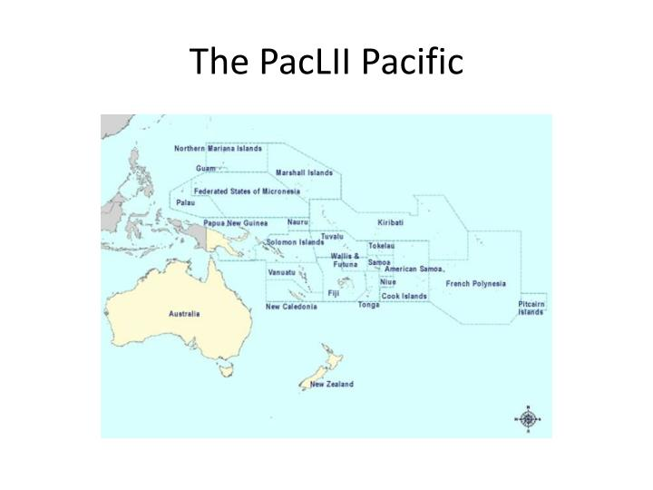 The paclii pacific