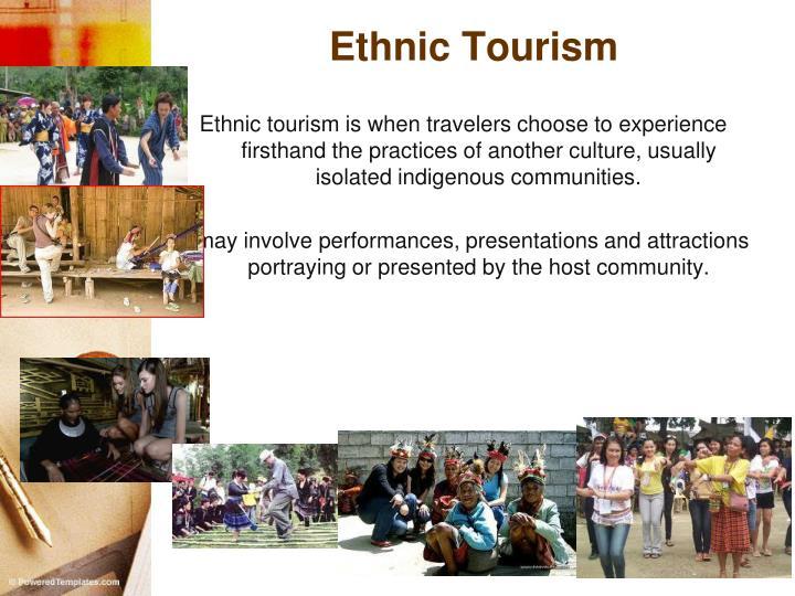 Ethnic Tourism