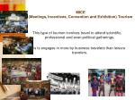 mice meetings incentives convention and exhibition tourism
