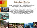 nature based tourism