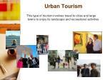 urban tourism