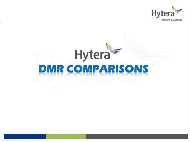 DMR Comparisons