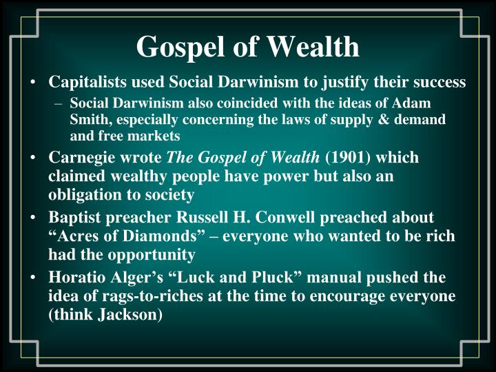 Gospel of Wealth
