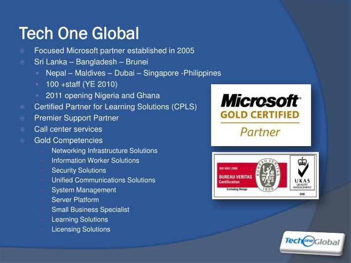 Tech One Global