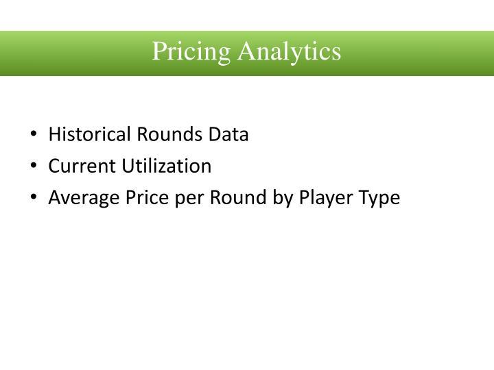 Pricing Analytics