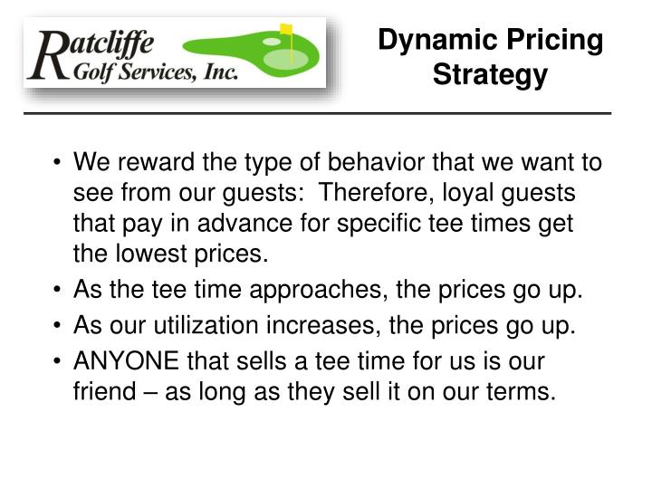 Dynamic Pricing Strategy