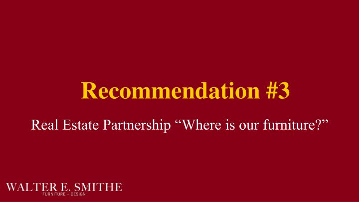 Recommendation #3