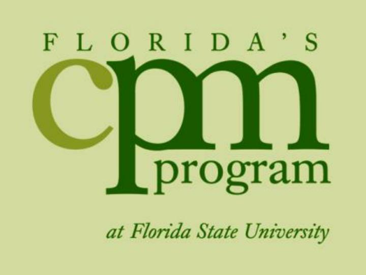 Florida s certified public manager program
