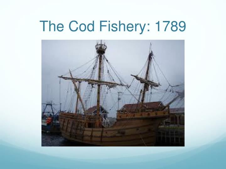 The Cod Fishery: 1789