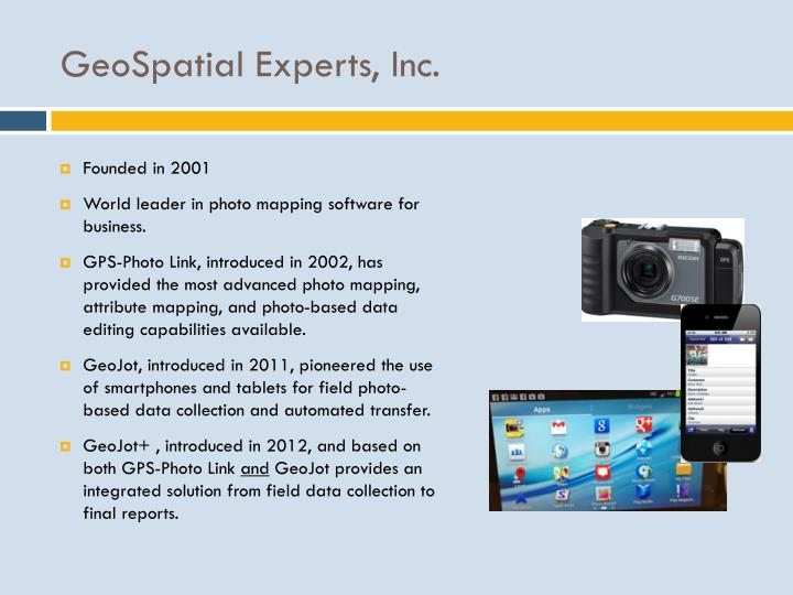 GeoSpatial Experts, Inc
