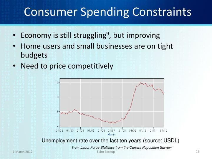 Consumer Spending Constraints